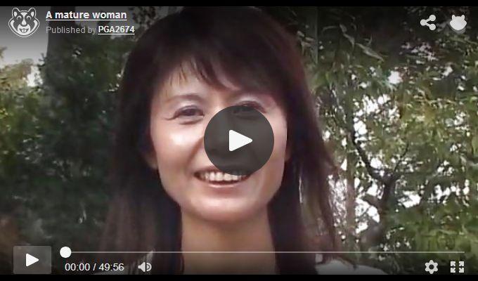 キレイな人妻熟女動画 – AV出演を自ら応募してきた素人熟女
